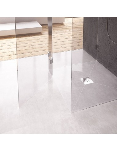 Duschelement Wiper 900 x 1850 mm Showerlay Punkte Zonda