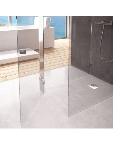 Duschelement Wiper 900 x 1600 mm Showerlay Punkte Tivano