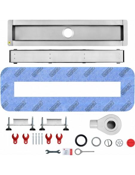 Duschrinne Wiper Premium 700 mm Pure Komplett-Set