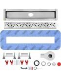 Duschrinne Wiper 600 mm Premium Slim Ponente