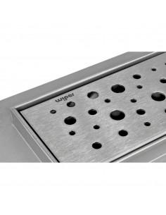 Duschrinne Wiper Premium Slim 600 mm Mistral