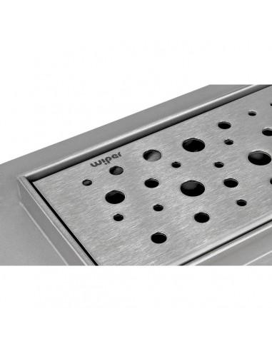Duschrinne Wiper 600 mm Premium Slim Mistral