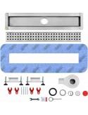 Duschrinne Wiper 1200 mm Premium Slim Mistral
