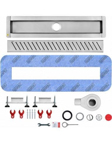 Duschrinne Wiper 800 mm Premium Pure