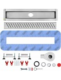 Duschrinne Wiper 500 mm Premium Pure