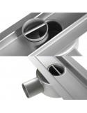 Duschrinne Wiper 500 mm Premium Ponente