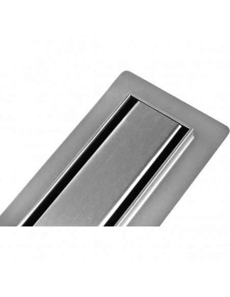 Duschrinne Wiper Premium Slim 1200 mm Ponente Komplett-Set