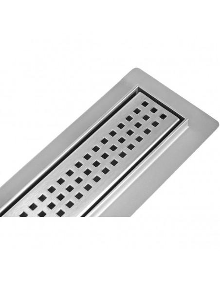Duschrinne Wiper Premium Slim 1000 mm Sirocco Komplett-Set