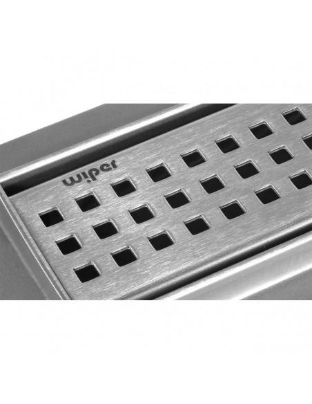 Duschrinne Wiper Premium Slim 1200 mm Sirocco Komplett-Set