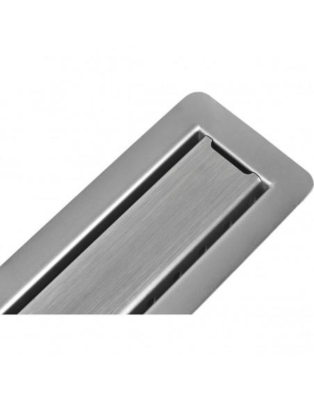 Duschrinne Wiper Invisible Slim 700 mm Komplett-Set