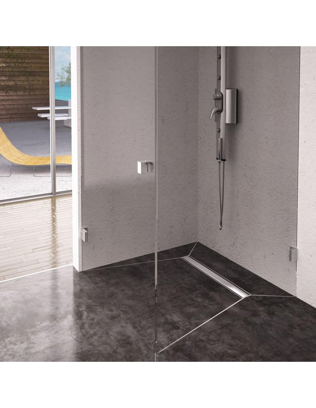 moderne edelstahlrost linienentw sserung 600 mm elite. Black Bedroom Furniture Sets. Home Design Ideas