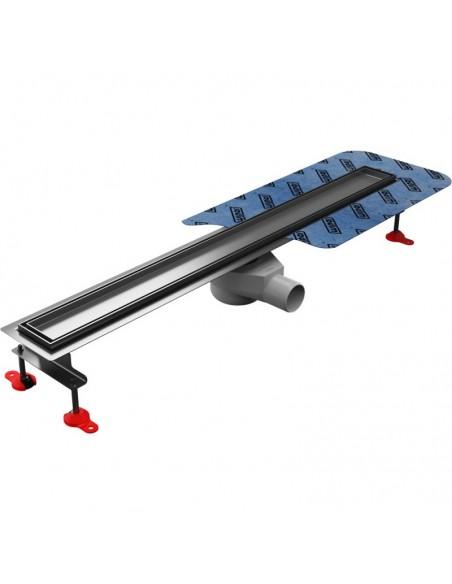 Duschrinne Wiper Elite 600 mm Pure Komplett-Set