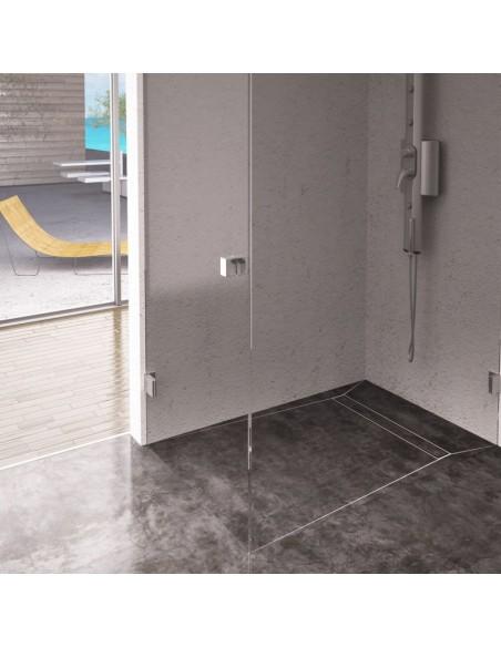 Duschrinne Wiper Elite 700 mm Pure Komplett-Set