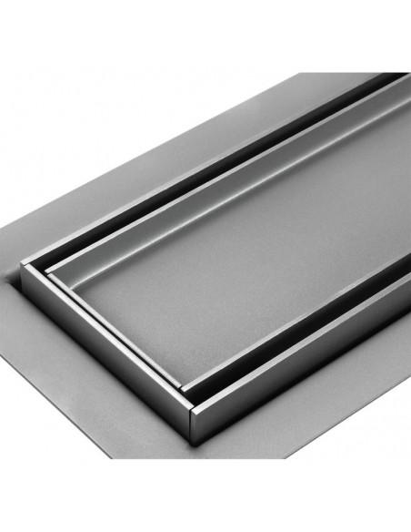 Duschrinne Wiper Elite 800 mm Pure Komplett-Set