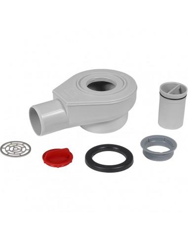 Ablaufgehäuse für Duschwannen McAlpine STW4-r 70mm mit Reinigung von ...