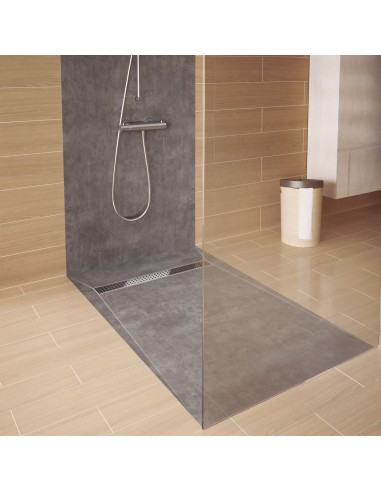 Duschelement Wiper 800 x 800 mm Showerlay Linie Pure
