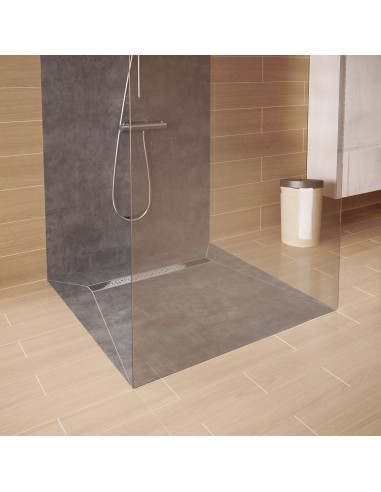 Duschelement Wiper 800 x 800 mm Showerlay Linie Sirocco